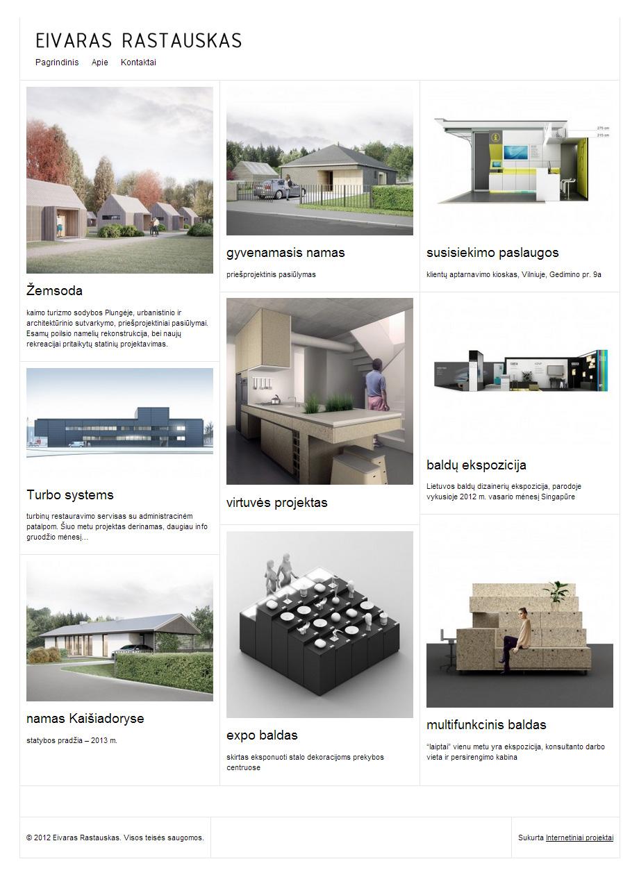 Interniai projektai
